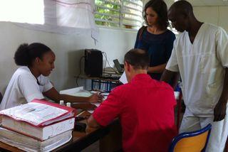 Les élèves de l'IFSI à l'épreuve d'un exercice pratrique