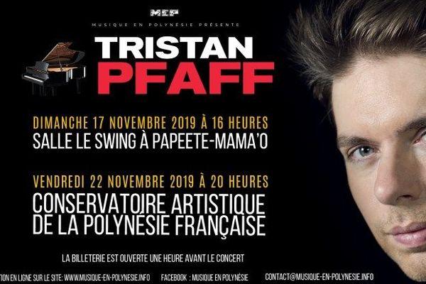 Tristan Pfaff : le virtuose donnera deux récitals
