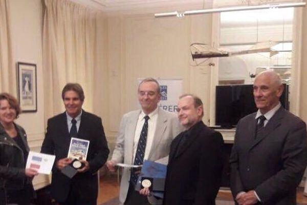 Le prix Guynemer a Simon Hayot