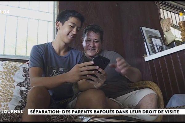Parents divorcés : « Papaouté » donne un nouvel espoir pour le droit de visite des enfants