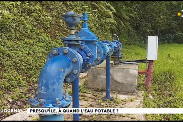 A quand de l'eau potable pour tous à la presqu'île de Tahiti ?