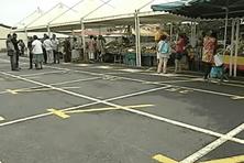 Le marché de Rémire Montjoly victime de la grève des carburants