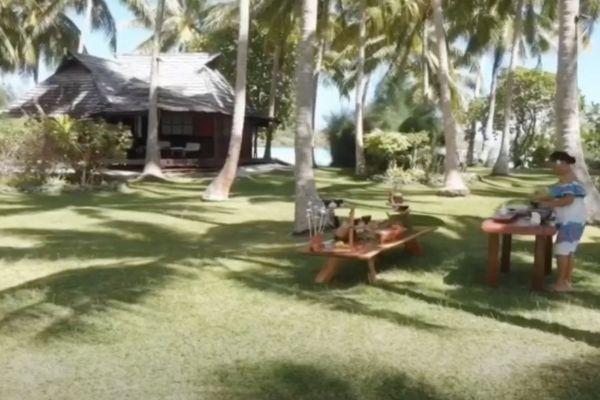 A'ai Fenua : sans touristes, les employés d'hôtels s'occupent