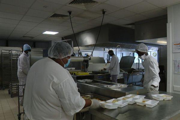 La cuisine de l'hôpital de St Laurent du Maroni