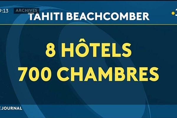 Le groupe « Tahiti Beachcomber », poids lourd du tourisme en Polynésie