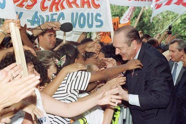 Chirac à LA Réiunio