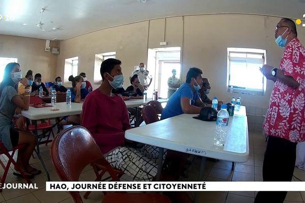 Journée de Défense et de Citoyenneté à Hao