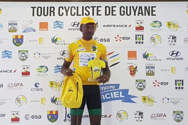 Patrice Ringuet maillot jaune TDG 2018