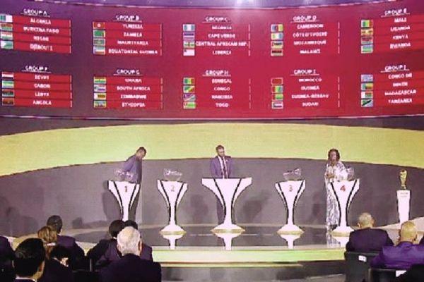 Tirage au sort zone Afrique Coupe du monde 2022 Egypte janvier 2020