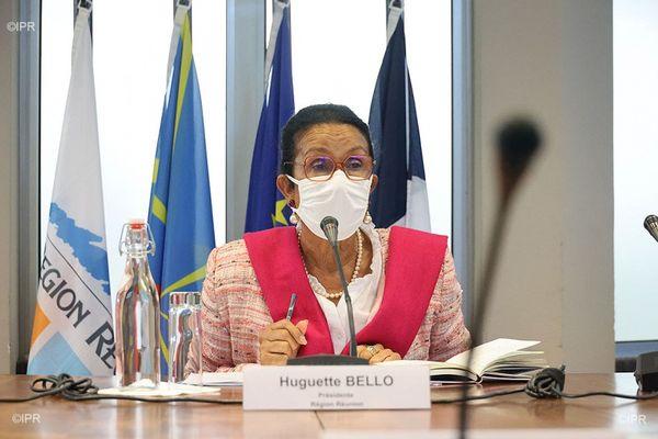 Huguette Bello présidente Région Réunion préparation 2ème assemblée plénière 290721