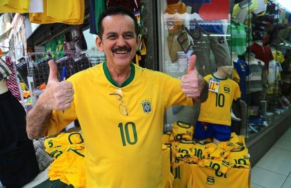 vendeur maillots Rio