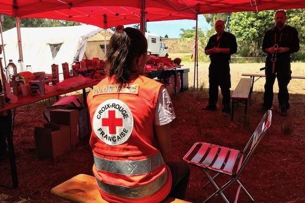 Feu du Mont-Dore, centre de la Croix Rouge, 5 décembre 2019