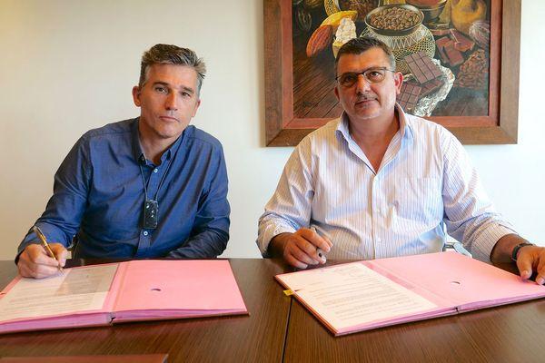 Conflit de scliniques, signature du protocole d'accord, 27 juillet 2018