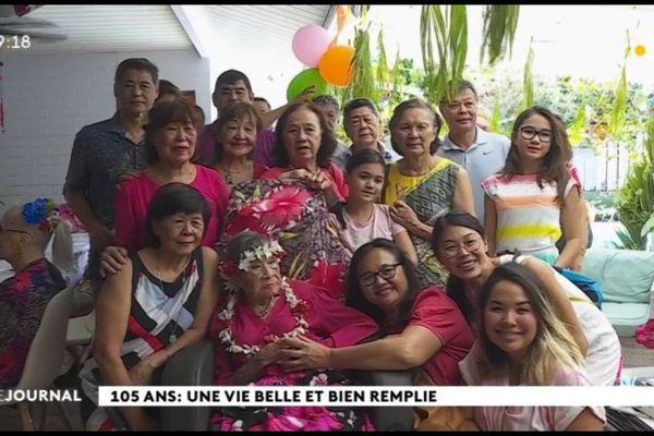Marthe Tanseau fête ses 105 ans