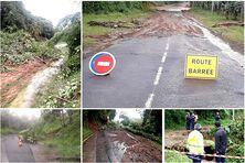 état des routes après les pluies du 10 novembre 2020