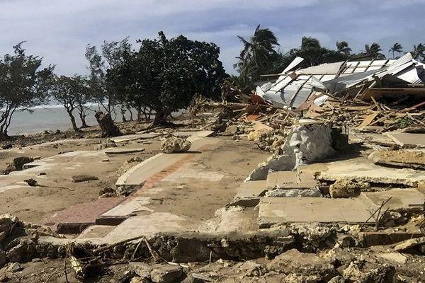 Cyclone Harold : Dégâts aux Tonga