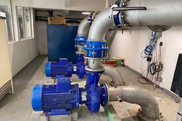 Unité production eau Vernou, Petit-Bourg