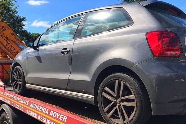 Saisie de voiture à Bras-Panon