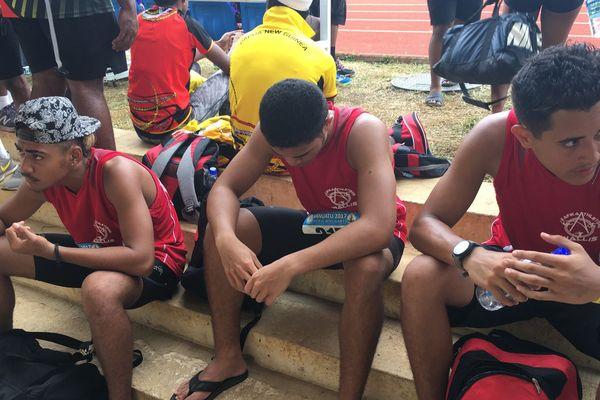 deception pour les athletes du 4 fois 100m relais