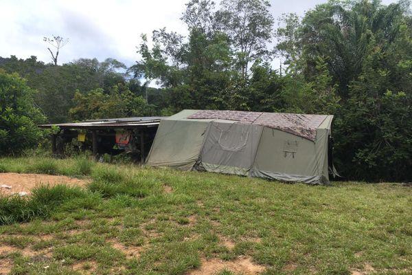 les Forces armées de Guyane et la gendarmerie s'installent à Twenké-Taluen