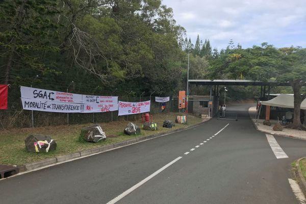 Grève USTKE CCT (centre culturel Tjibaou)