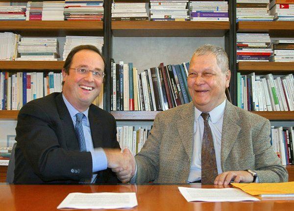 2002 Paul Vergès et François Hollande