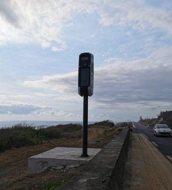 radar tourelle installé à Saint-Leu le 071220