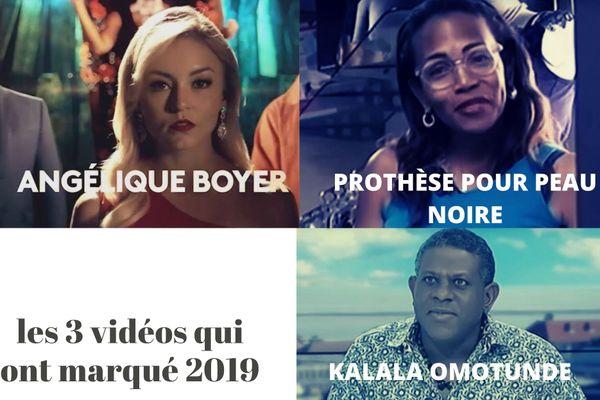 Top 3 des vidéos les plus vues en 2019