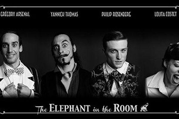 "Les acteurs de ""The Elephant in the room"""