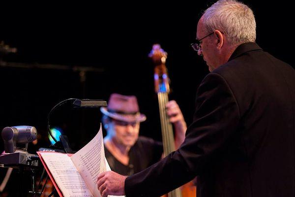 Frédéric Rossoni, directeur de l'orchestre symphonique du Conversatoire