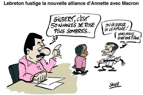 Souch 17022017 : Lebreton - Annette - Macron