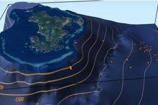 Cartographie d'essaim de séismes à Mayotte