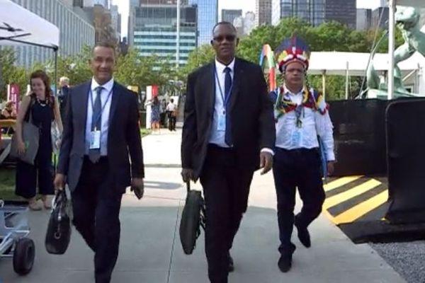 La délégation guyanaise à l'ONU