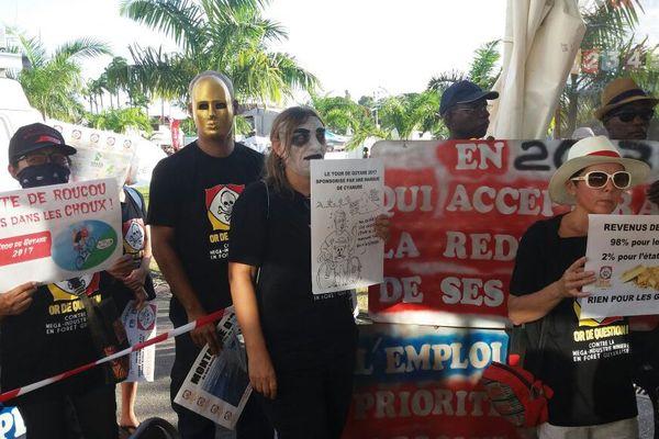 Manifestation du 27 août Endel