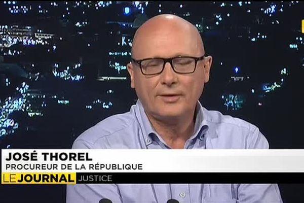 José Thorel, procureur de la République, était l'invité du journal de ce lundi 12 janvier 2015.