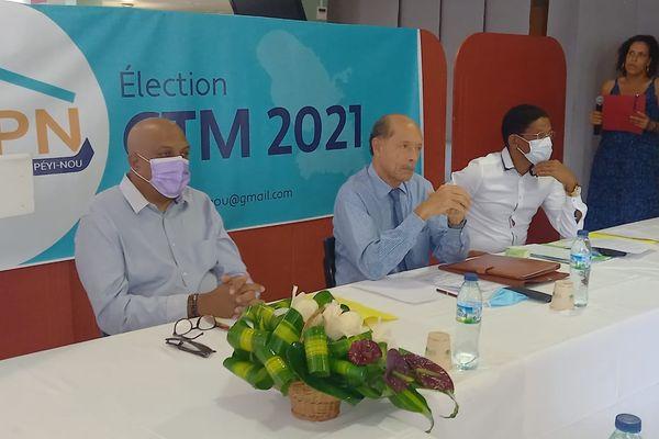 Ansanm Pou Peyi Nou, militants politiques