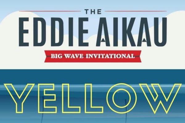 Eddie Aikau yellow