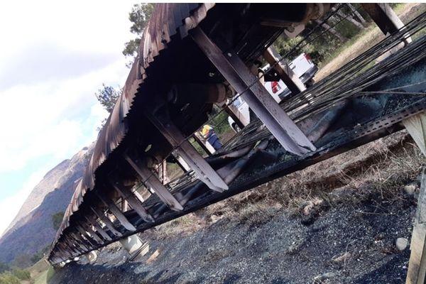Serpentine Kouaoua Incendie mai 2020