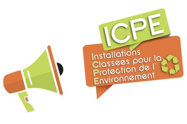 Logo métropolitain pour les ICPE.