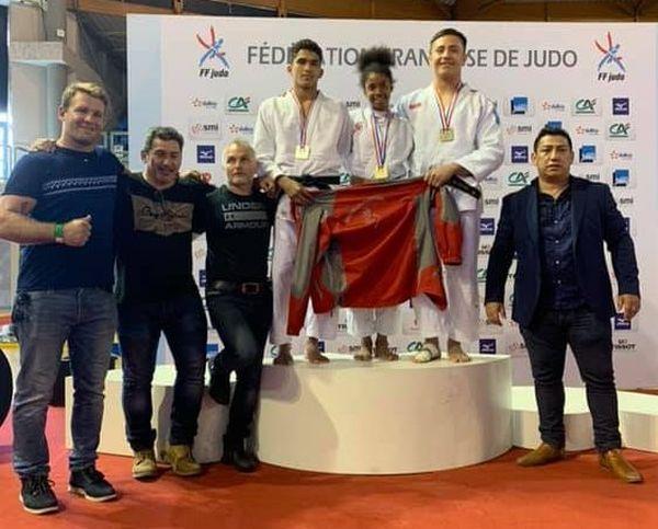 Judo : trois Calédoniens sur podium des championnats de France