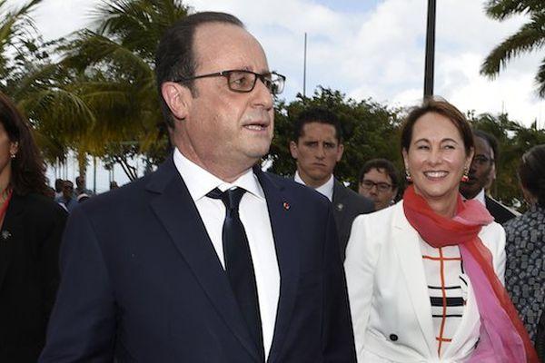François Hollande Fort de France