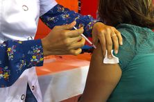 entre éphémère de vaccination à la Plaine des Palmistes