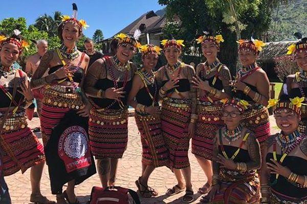 Festival du tatouage Moorea - délégation des Philippines