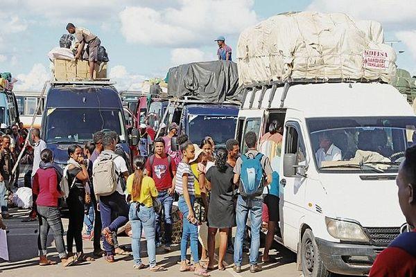 Coronavirus exode de la capitale à Madagascar 22 mars 2020