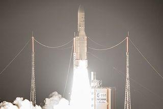 Calendrier Lancement Ariane 2019.Et De 100 Pour Ariane 5 Guyane La 1ere