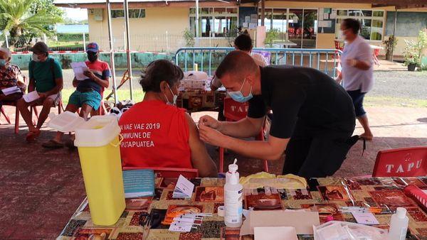 Taputapuatea : le vaccinodrome ne désemplit pas