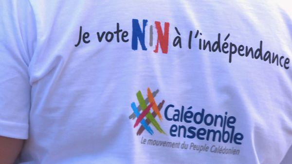 Calédonie ensemble Tee shirt Non à l'indépendance