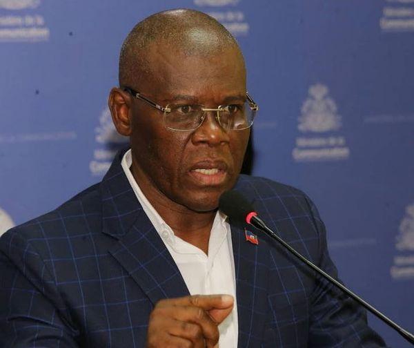 Joseph Jouthe premier ministre d'Haiti