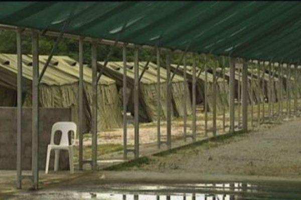 Centre de rétention à Nauru