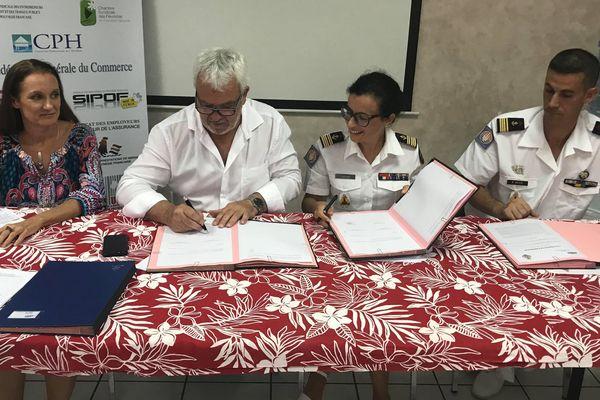 Partenariat entre le MEDEF-Pf et le RSMA-Pf